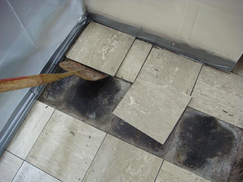 Diy Asbestos Removal Kit Floor Tile